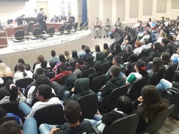 Fórum de Serranópolis realiza Júri Popular na Câmara Municipal