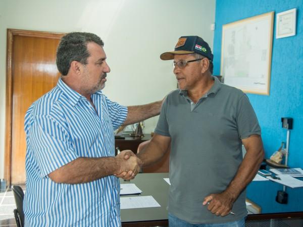 Presidente da Câmara Bigico se reúne com Prefeito Rogério Pianezzola