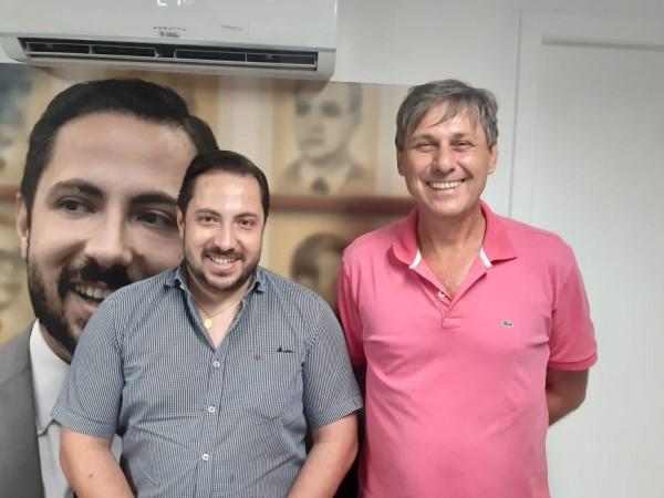 Vereador Mauri Wierrbicki esteve reunido com Deputado Zé Carapô em Goânia