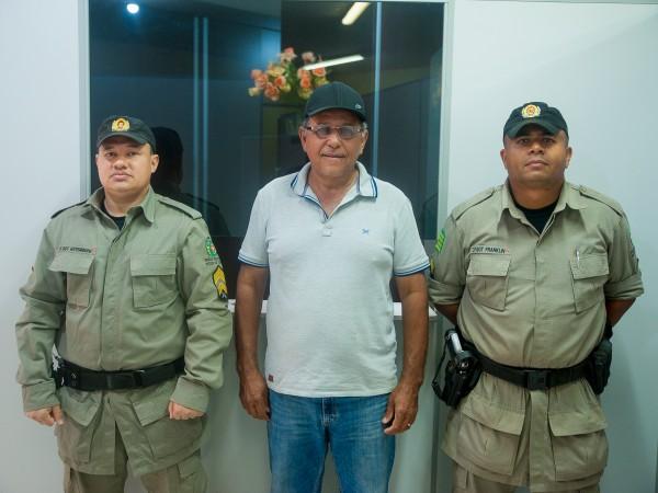 Comandante do Destacamento da Polícia militar se reúne com Presidente da Câmara