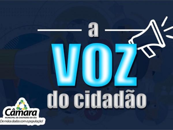 A Voz do Cidadão – Maria Magdalena Pinto solicita acesso ao Wi-Fi na Casa de Apoio